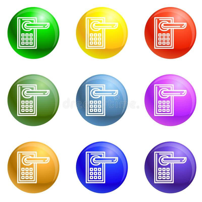 Vettore senza fili dell'insieme delle icone illustrazione vettoriale
