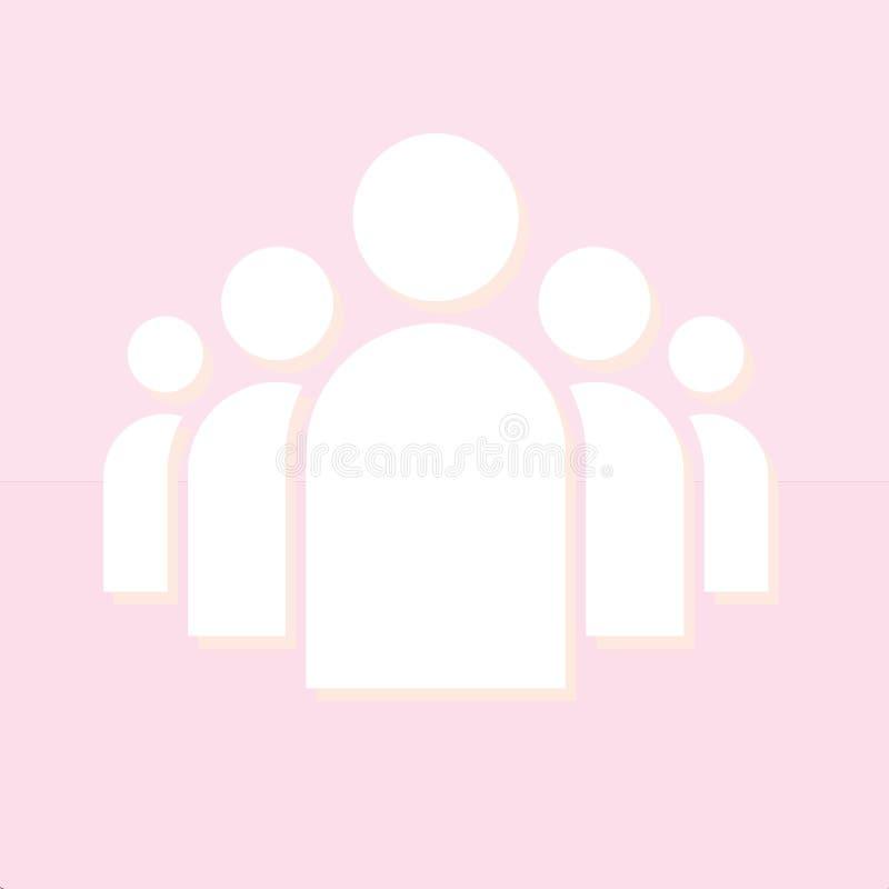 Vettore sociale dell'icona fotografia stock