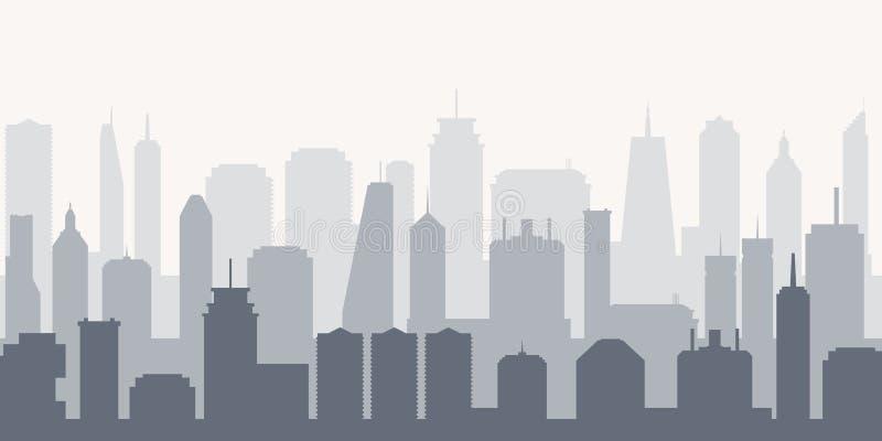 Vettore urbano di paesaggio urbano royalty illustrazione gratis