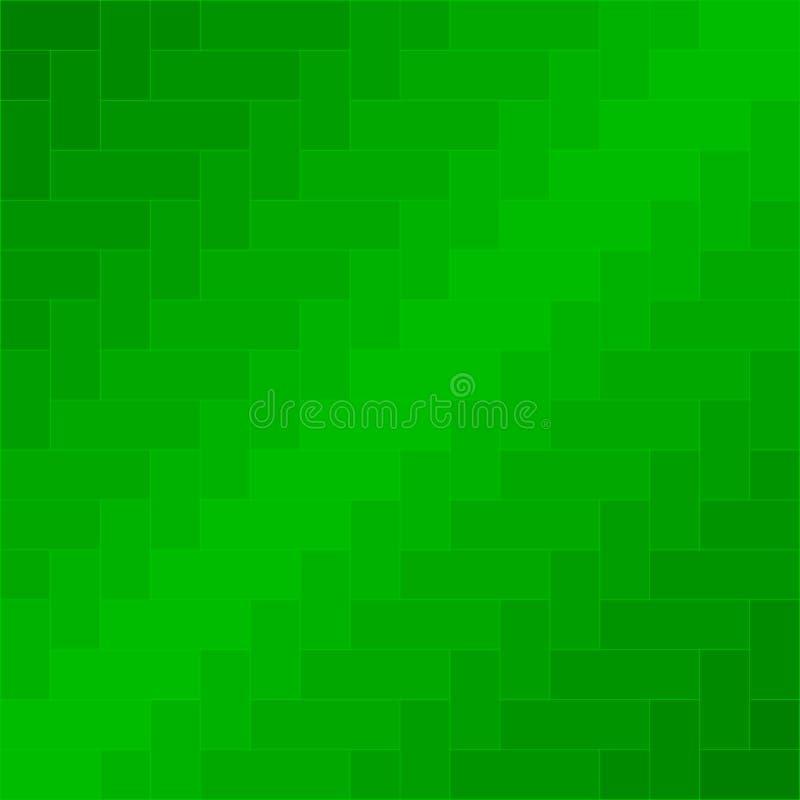 Vettore verde del fondo del modello del tessuto illustrazione di stock