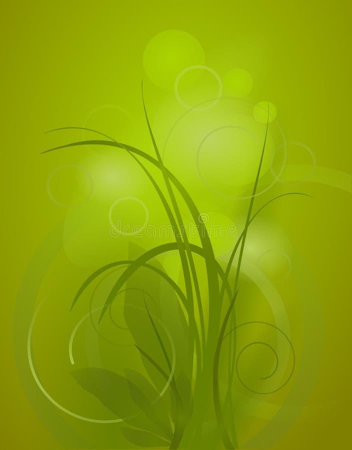 Vettore verde della priorità bassa illustrazione vettoriale