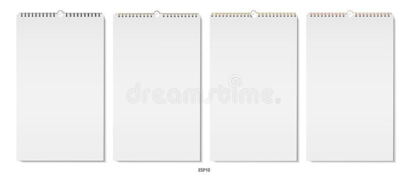 Vettore verticale dei blocchi note royalty illustrazione gratis
