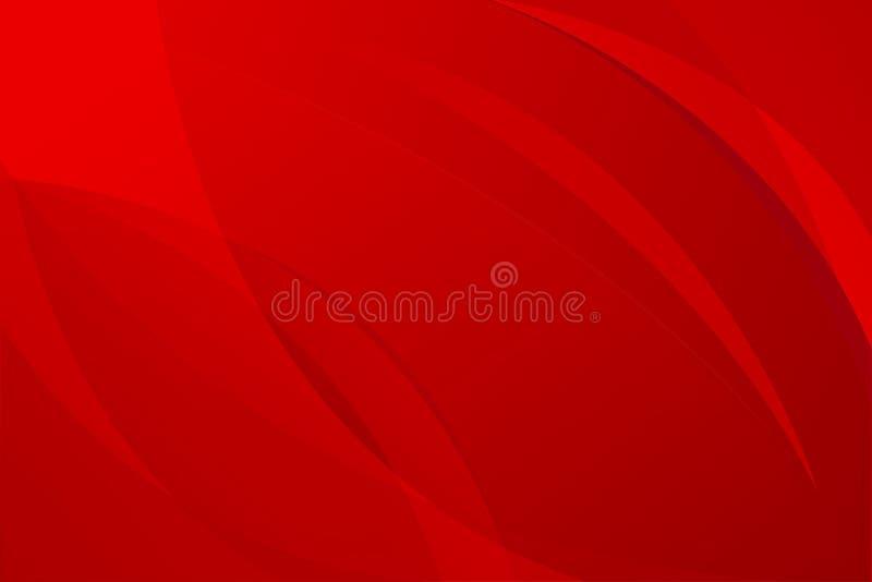 Vettori astratti rossi del fondo illustrazione vettoriale