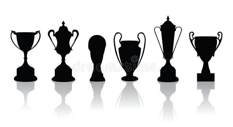 Vettori dei trofei illustrazione vettoriale