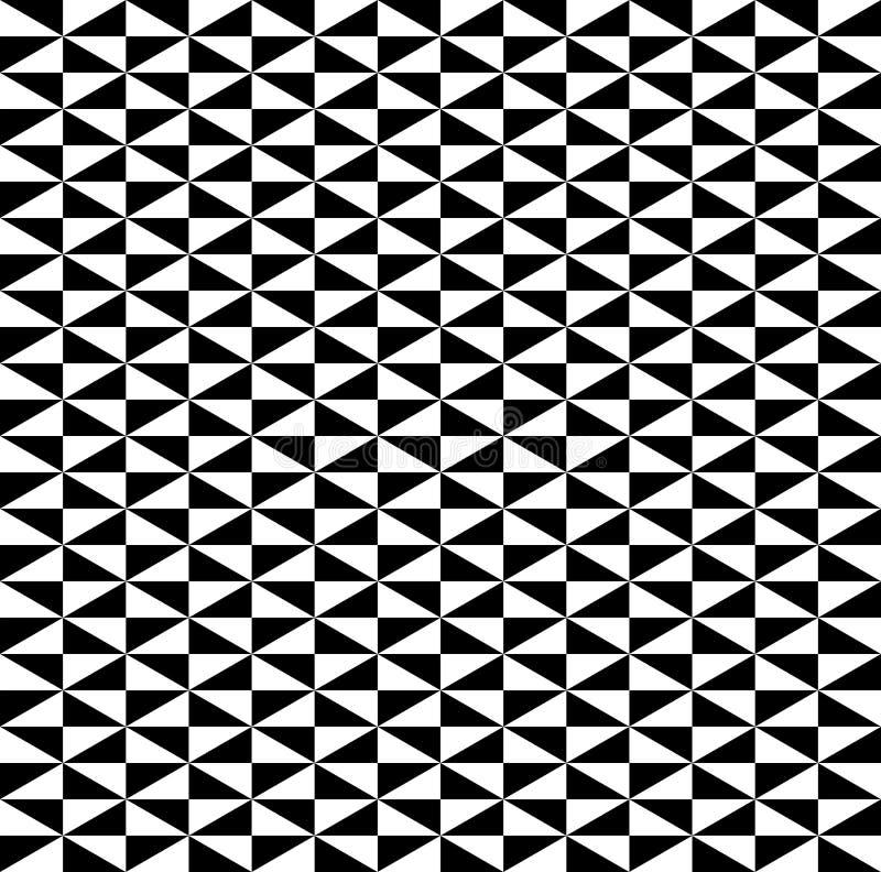 Vettori senza cuciture del fondo del modello in bianco e nero dei cubi royalty illustrazione gratis