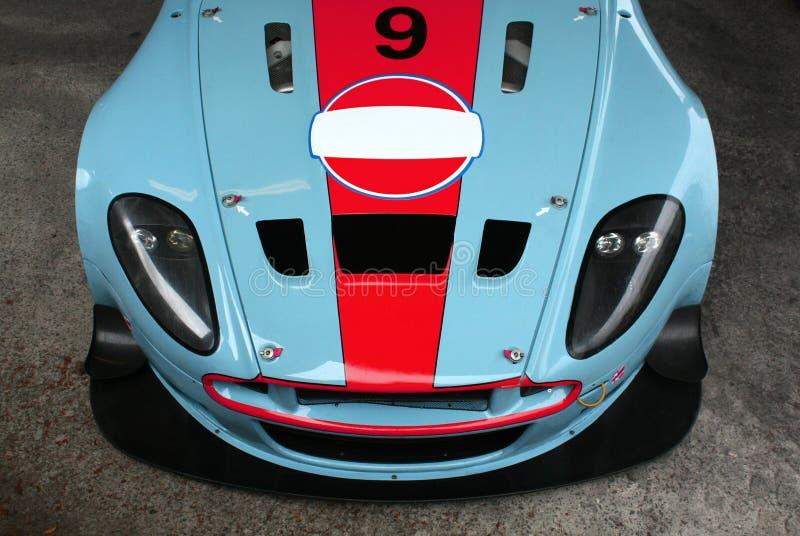 Vettura da corsa di Aston Martin fotografia stock
