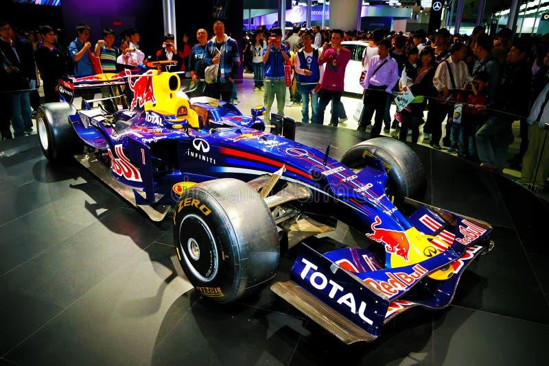 Vettura da corsa di Infiniti F1 fotografie stock libere da diritti