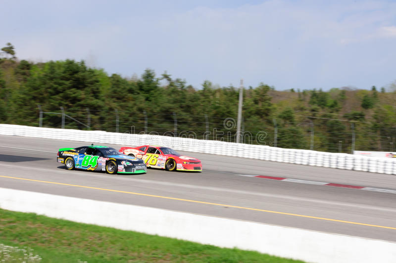 Vettura da corsa di NASCAR fotografie stock