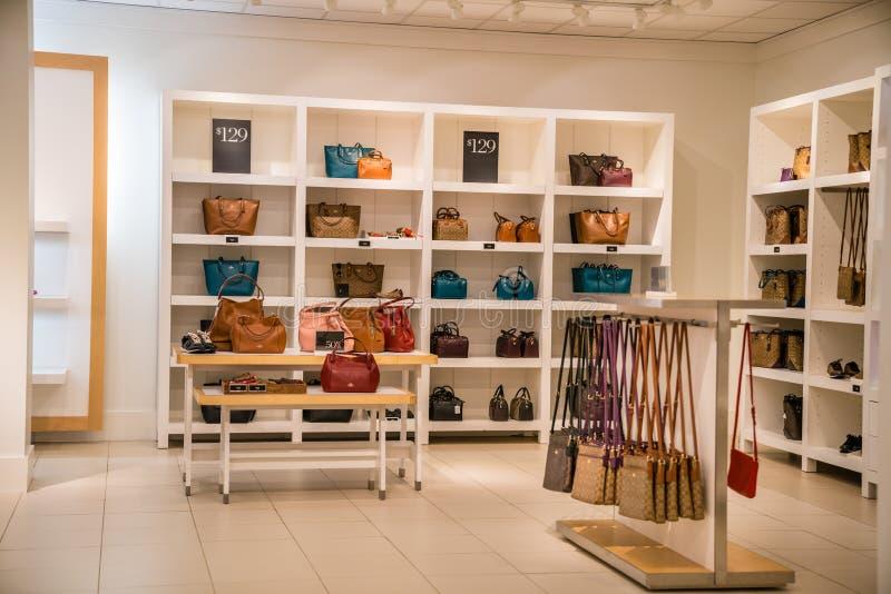 Vettura Handbags immagini stock