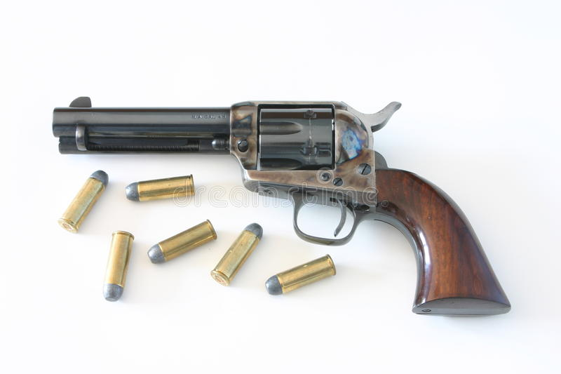 veulen 45 pistool, Peacemaker royalty-vrije stock fotografie