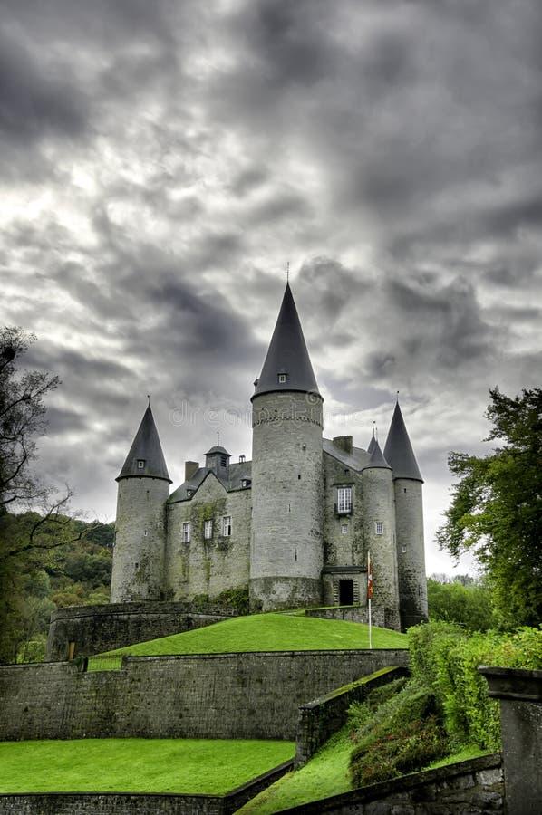 Veves Castle, Belgium stock image