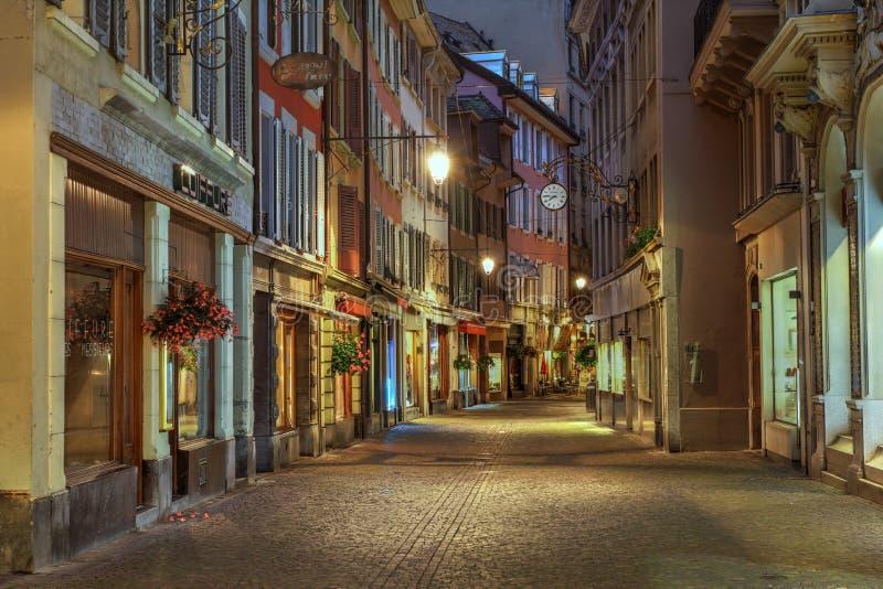 vevey Швейцарии стоковая фотография rf