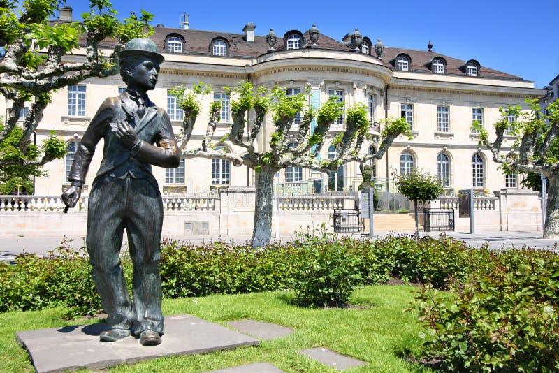 vevey Швейцарии стоковое фото rf
