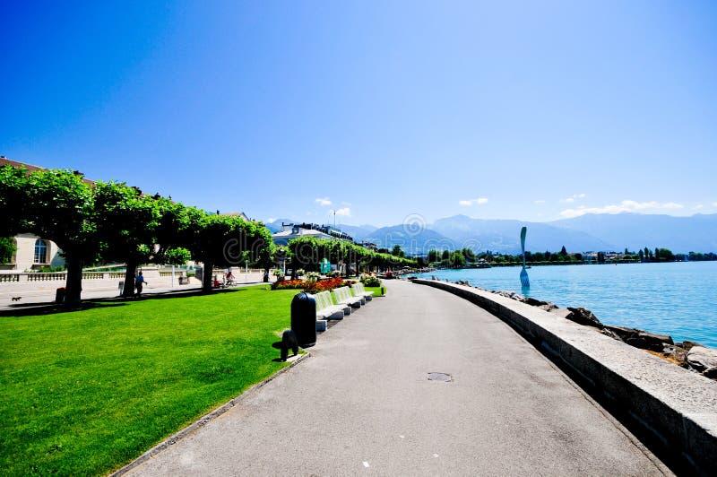 vevey szwajcarii obrazy stock