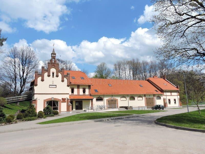 Vezaiciai manor, Lithuania stock photos