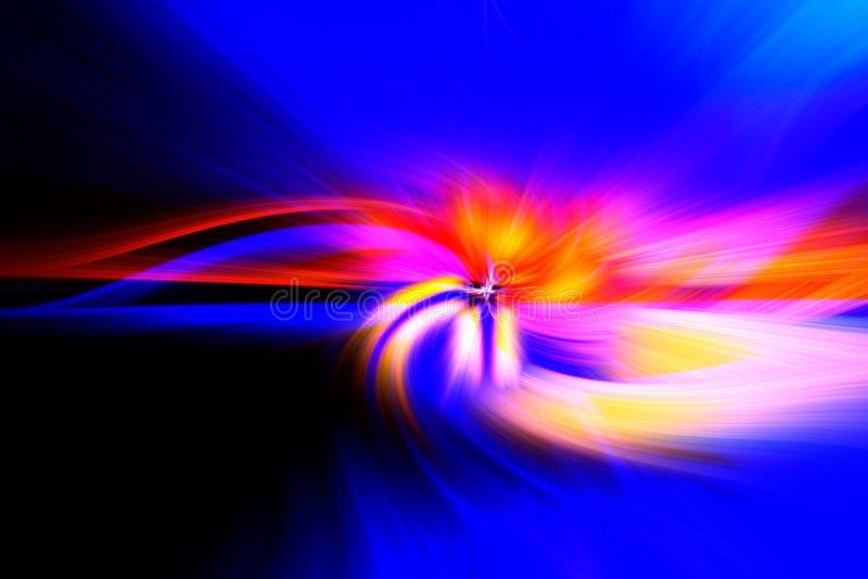 Vezel lichte abstracte achtergrond voor achtergrond stock fotografie