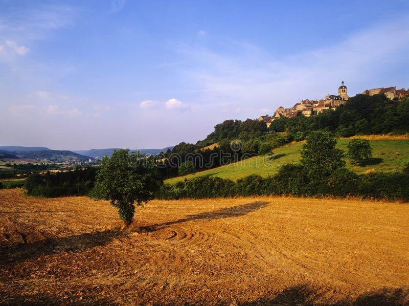 Vezelay photo stock