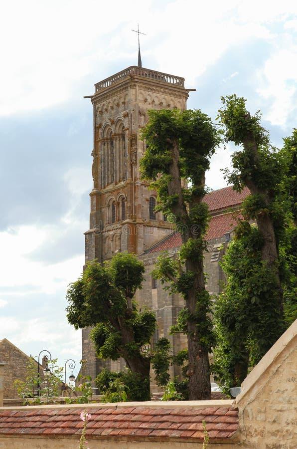 Vezelay Abbey Stock Photos