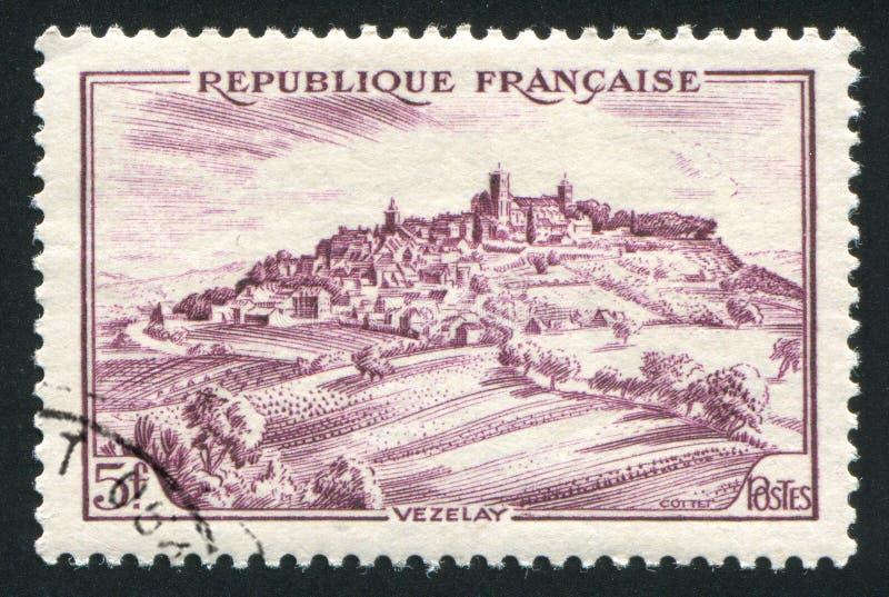 Vezelay fotografia de stock royalty free