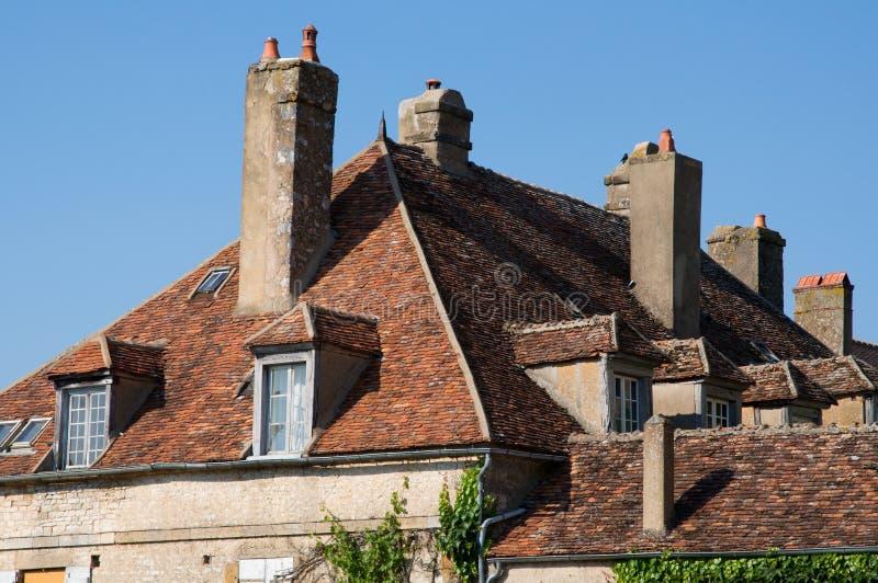 Vezelay, France image stock
