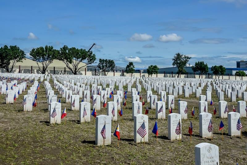 2018 VFW-Services bei Clark Cemetery, Philippinen stockbilder