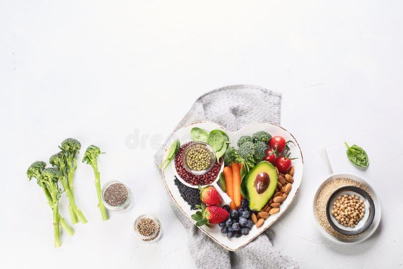 Vgetarian, weganin?w karmowi sk?adniki obraz stock