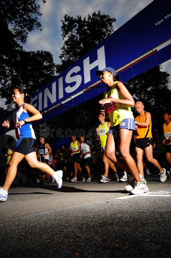 VGO Mount Faber Run 5 stock photography