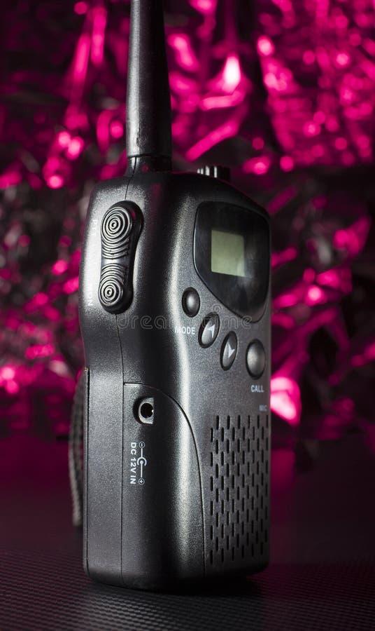 VHF携带无线电话 免版税图库摄影