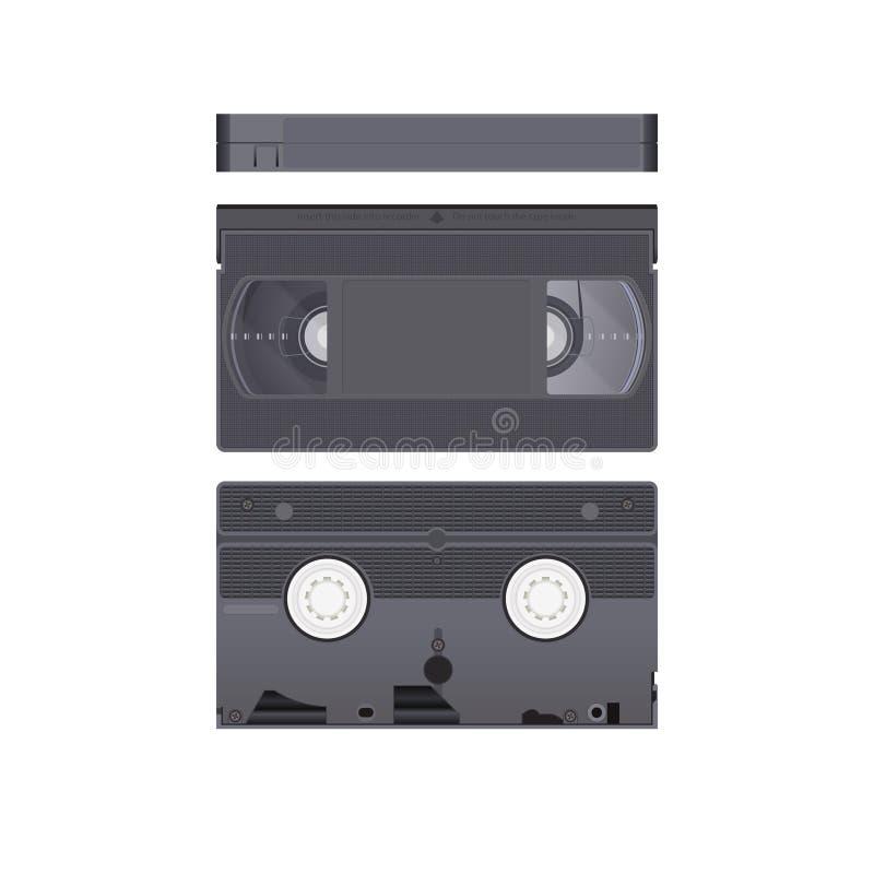 VHS录影带 向量例证