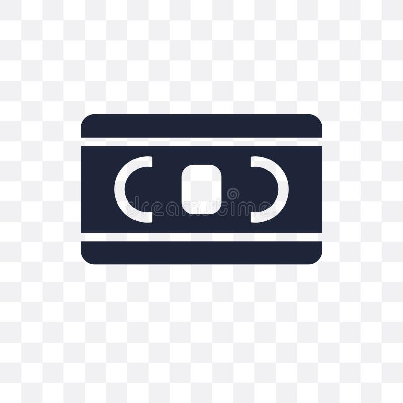 Vhs透明象 Vhs从戏院汇集的标志设计 库存例证