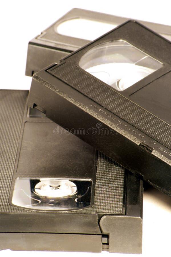 VHS-Bänder stockfotos