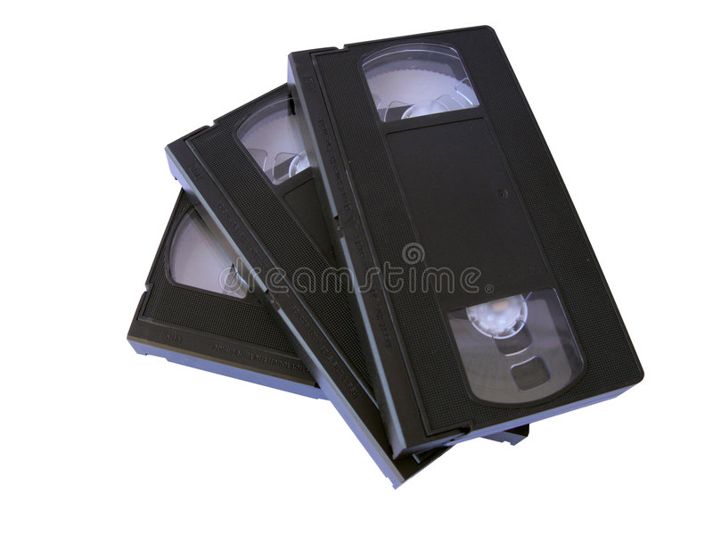 VHS banden royalty-vrije stock foto