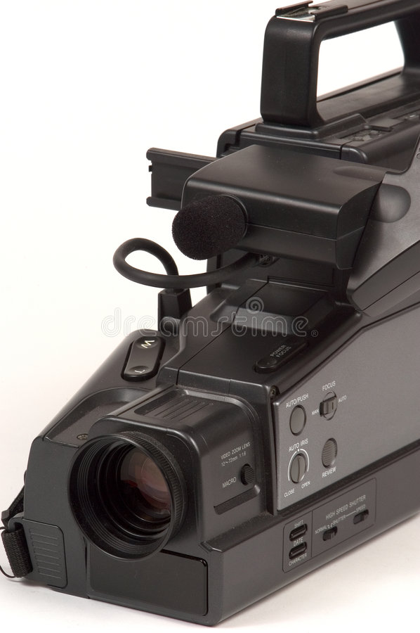 Download VHS Camcorder close up stock image. Image of viewfinder - 12523