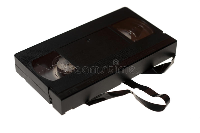 VHS cassette royalty free stock photo