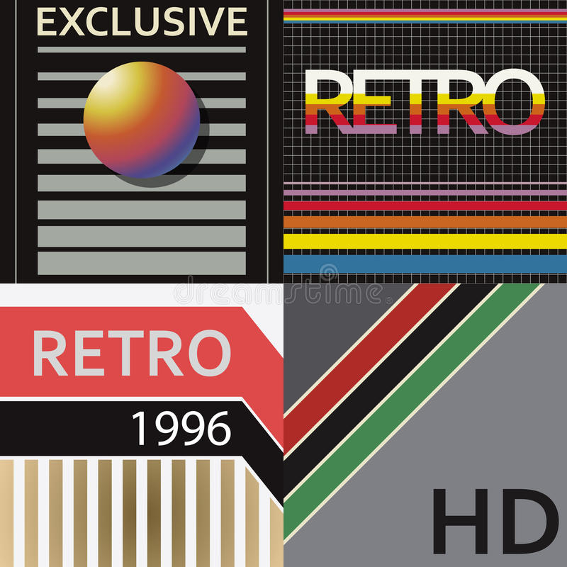 Free Vhs Cover Style Stock Photos - 66403273