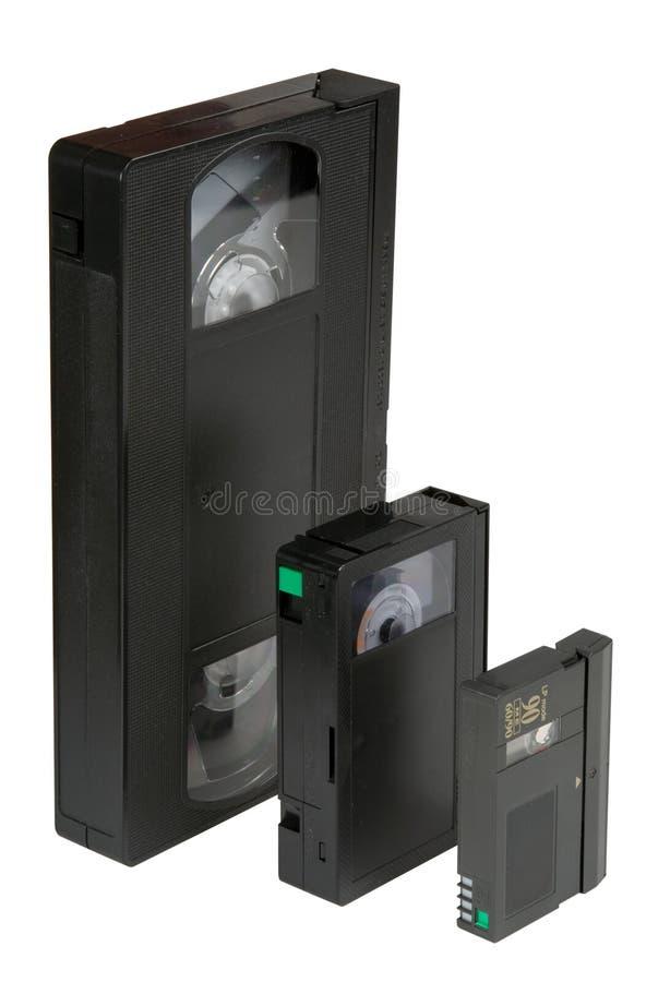 VHS d'évolution photos stock