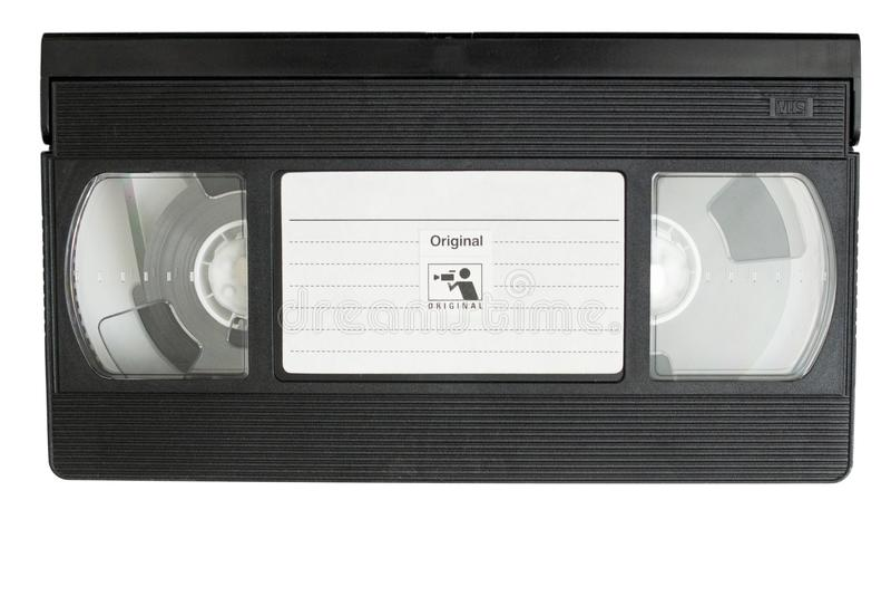 VHS filmkassett royaltyfria foton