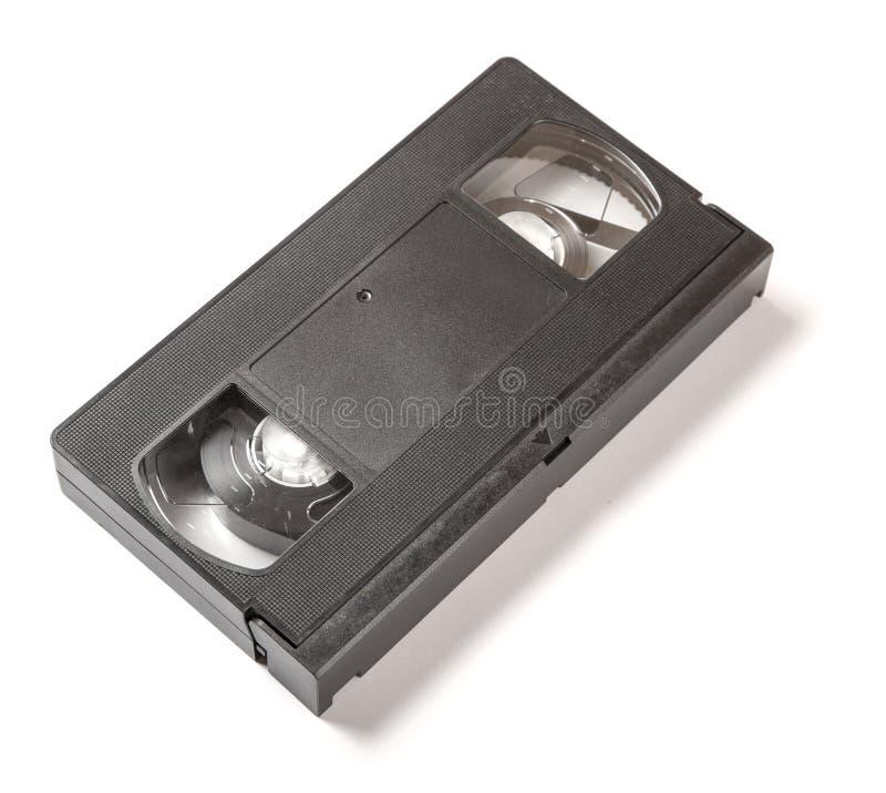 VHS-Kassette lokalisiert nicht gegen Weiß lizenzfreies stockfoto