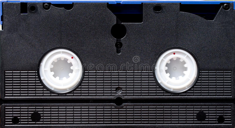 VHS Tape Stock Image