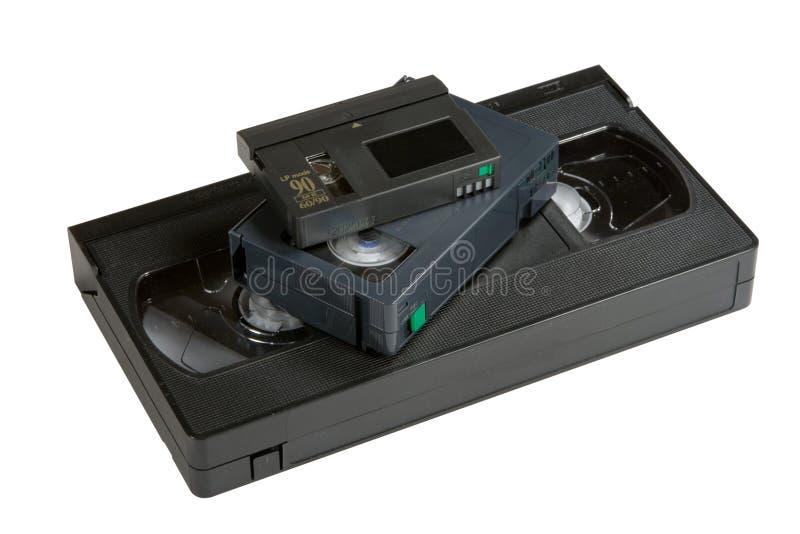 VHS van de evolutie stock foto