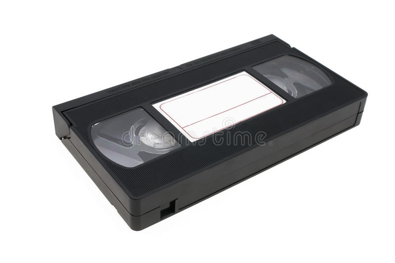 VHS-Videobandkassettenvideokassette lizenzfreie stockfotografie