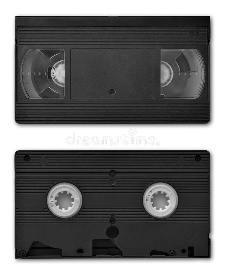 VHS videocassette stock afbeeldingen