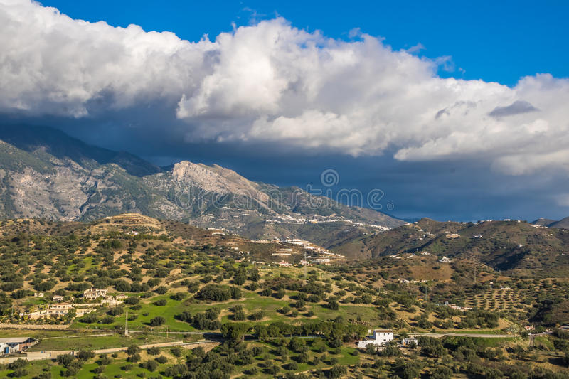 Viñuela, Malaga. Viñuela is a municipality in the province of Málaga in the autonomous community of Andalusia in southern Spain. It belongs to the royalty free stock photo