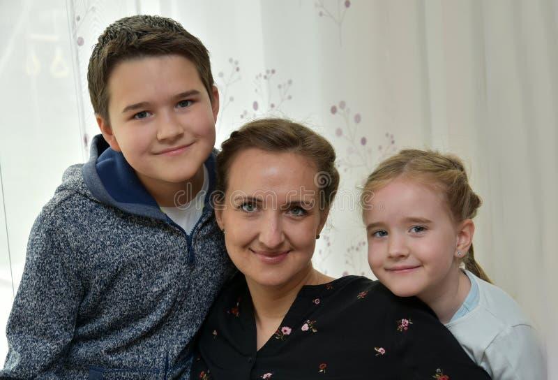 Vi älskar mamman fotografering för bildbyråer