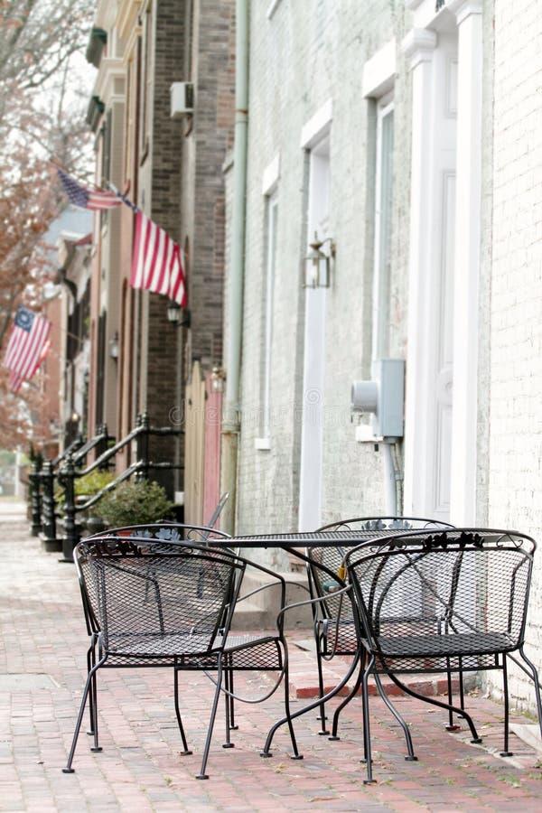 Via a Alessandria, la Virginia fotografie stock libere da diritti