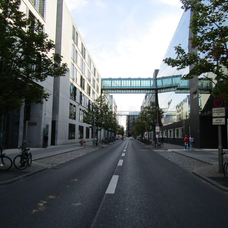 Via a Berlino immagine stock