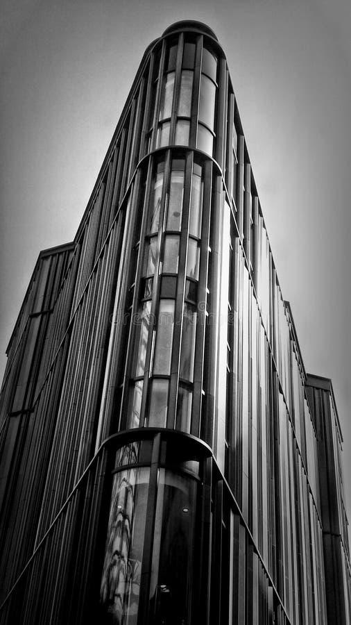 Via in bianco e nero di Oxford immagine stock
