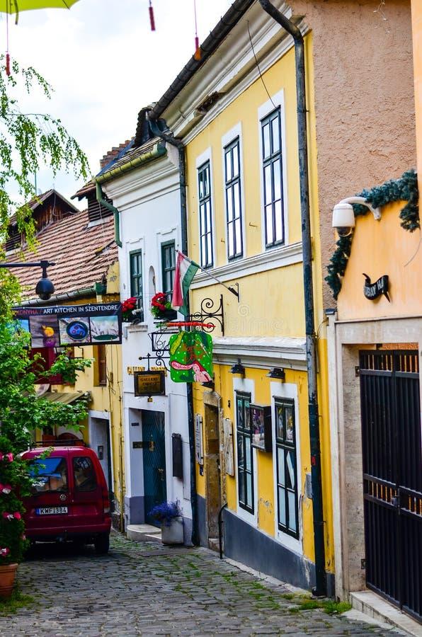 Via Budapest, fotografia stock