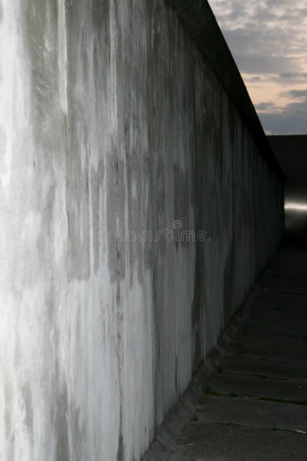 Via commemorativa di Bernauer della parete, Berlino, Germania fotografie stock libere da diritti