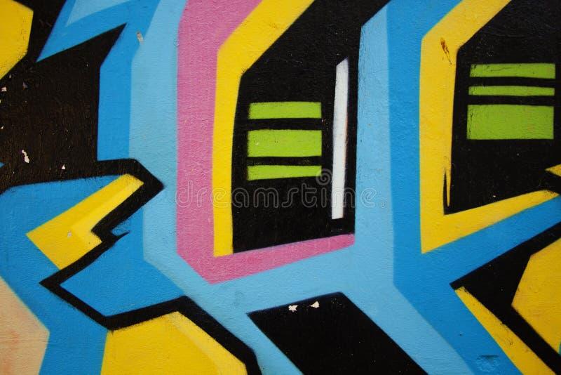 Via 3 dei graffiti immagini stock libere da diritti